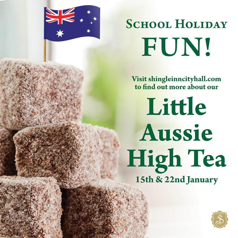 Shingle Inn Little Aussie High Tea